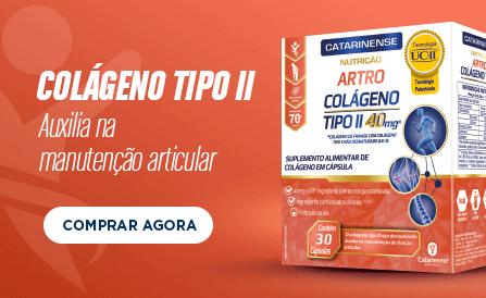 Artro Colágeno Tipo II - Auxilia na manutenção articular