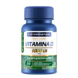 Vitamina D 1000 UI 30 Cápsulas