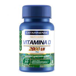 Vitamina D 2000 UI 30 Cápsulas