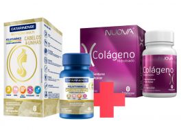 Combo Beleza - Nuova Colágeno Hidrolisado + Polivitamínico Cabelos & Unhas
