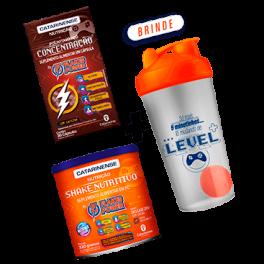 Combo Polivitamínico Concentração e Shake nutritivo e Shakeira Flakes Power