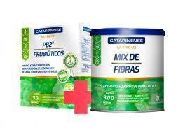 Combo Saúde Intestinal - Mix de Fibras + PB2 Probióticos