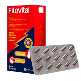 Fitovital - Utilizado como estimulante no tratamento das estafas mentais e físicas