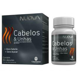 Nuova Cabelos e Unhas Suplemento de vitaminas e minerais em capsula