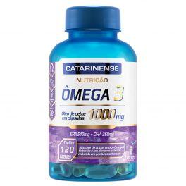 Ômega 3 1000mg 120 Cápsulas Catarinense Nutrição