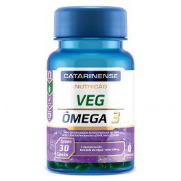 VEG Ômega 3 vegan 30 Cápsulas