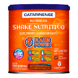 Suplemento Alimentar em Pó Shake Nutritivo Flakes Power