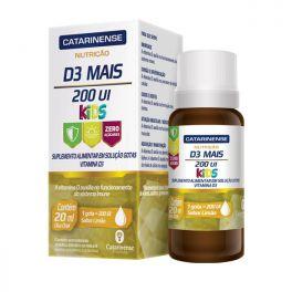 Vitamina D3 Mais 200 UI Kids